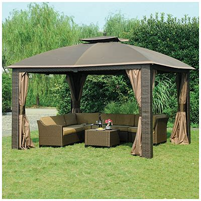Wilson And Fisher Patio Furniture by View Wilson Amp Fisher 174 10 X 12 Resin Wicker Riviera