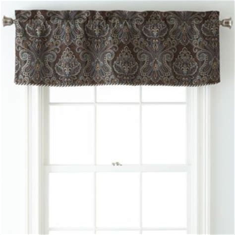 Jcpenney Kitchen Curtains Valances by Royal Velvet 174 Manchester Rod Pocket Tailored Valance Found
