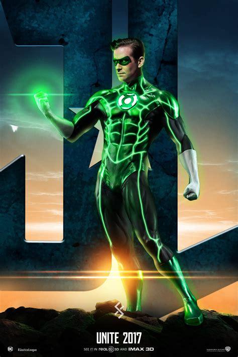 justice league unite green lantern by farrrou on deviantart