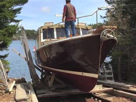 John S Bay Boat by Launch Of New 48 Foot Wooden Boat By John S Bay Boat Co