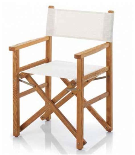 fauteuil metteur en sc 232 ne bois et toile pliant ramberti