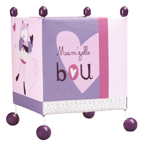 mam zelle bou le de chevet violet de sauthon baby d 233 co les aubert