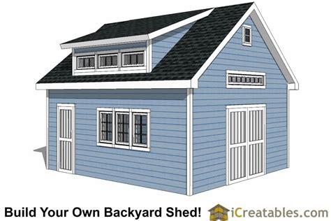 16x20 shed plans build a large storage shed diy shed designs