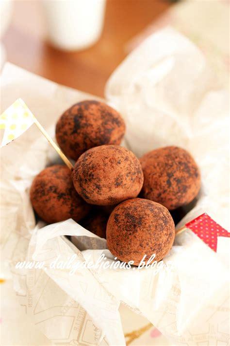 dailydelicious fix desserts easy chocolate truffles