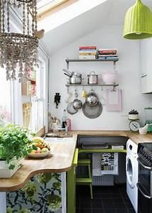 Stauraum Kleine Küche : kleine wohnk che ideen ~ Markanthonyermac.com Haus und Dekorationen