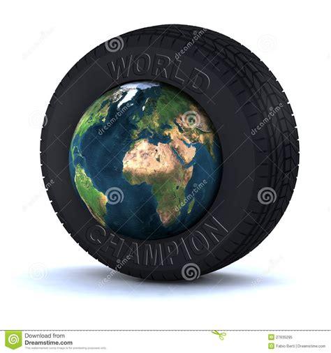 pneu avec le monde 224 l int 233 rieur photo libre de droits image 27635295