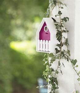 Vogelhaus Für Balkongeländer : landhaus vogelh uschen wei pink top qualit t baldur garten ~ Markanthonyermac.com Haus und Dekorationen