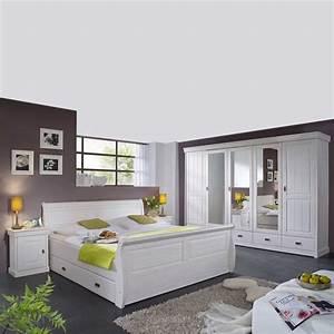 Möbel Schlafzimmer Komplett : komplett schlafzimmer im landhausstil janeira i ~ Markanthonyermac.com Haus und Dekorationen