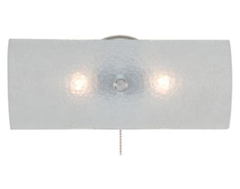 baker 2 light 11 25 quot chrome vanity light with pull chain at menards 174