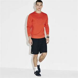 Lacoste Sport Mens Quartier Shorts - Navy - Tennisnuts.com
