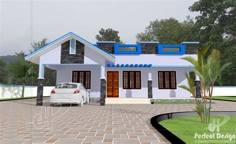 2 Bhk Home Interior Design Low Budget : 2 Bhk Low Budget Home Design At 1089 Sq Ft