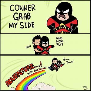 Conner, Grab My Side by 773HER on DeviantArt