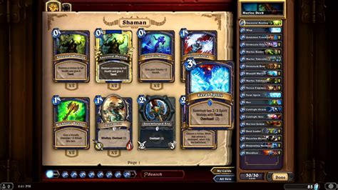 Hearthstone Heroes Of Warcraft Deck Builder's Guide For