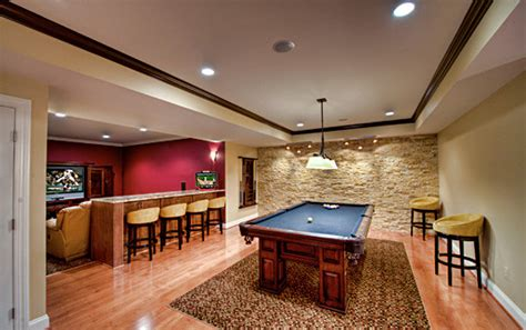 Great Falls Basement   Pool & Theatre Area   Contemporary   Basement   other metro   by Synergy