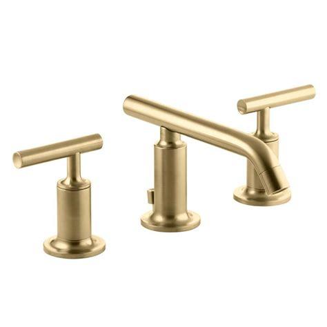 shop kohler purist vibrant moderne brushed gold 2 handle
