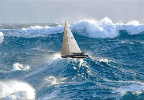 Catamaran Sailing Southern Ocean by The Horse S Mouth Sailing