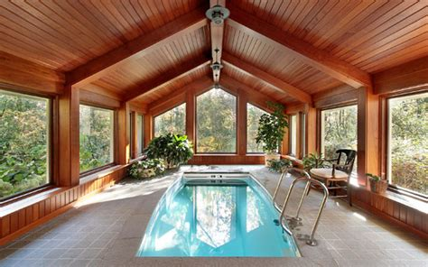 Design Tips For Indoor Swimming Pools-house Plans And More