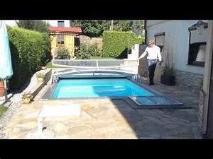 Poolüberdachung Ohne Schienen : bernhards flache poolabdeckung doovi ~ Markanthonyermac.com Haus und Dekorationen