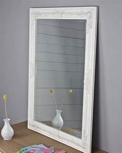 Spiegel Groß Günstig : spiegel wei antik 82x62 cm holz neu wandspiegel barock badspiegel standspiegel ebay ~ Markanthonyermac.com Haus und Dekorationen