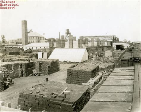 brick manufacturing the encyclopedia of oklahoma history and culture