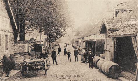 les anciennes rues de les halles aux vins 12 232 me arrondissement