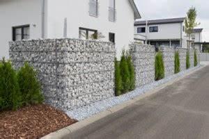 Sichtschutz Schnell Wachsend : gabionen als sichtschutz gabionen ~ Markanthonyermac.com Haus und Dekorationen
