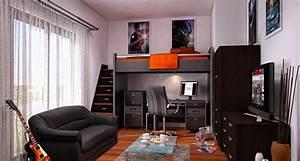 Jugendzimmer Für Jungen : kreative jugendzimmer ideen f r jungen 16 inspirationen ~ Markanthonyermac.com Haus und Dekorationen