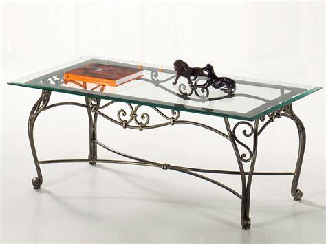 fer forge photo table de salon modilable table de lit