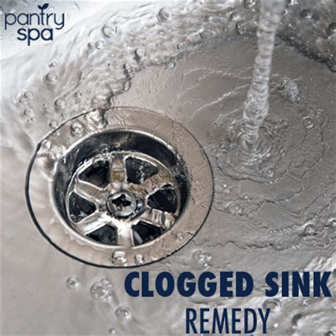 unclog sink drain remedy unclog drains with baking soda vinegar pantry spa