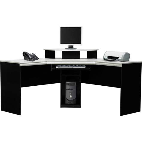 Black Corner Computer Desk by Black Corner Computer Desk With Hutch Office Furniture