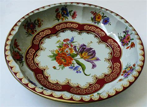 vintage 1971 daher decorated ware tin bowl