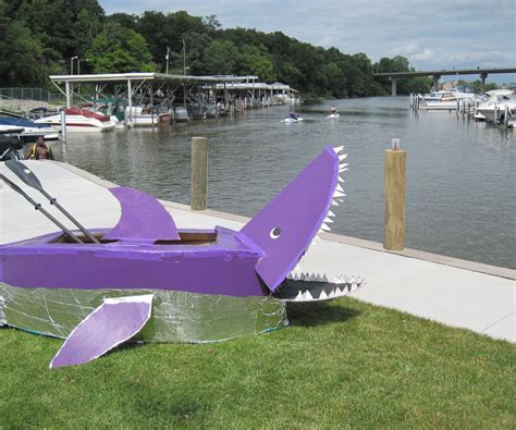 Big Sailboat Jobs by Make A Cardboard Boat 7 Steps With Pictures