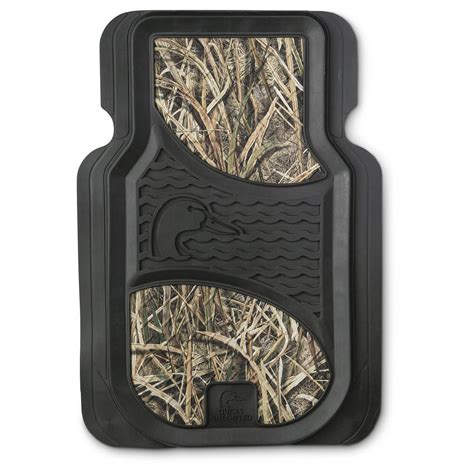 2 pk of universal camo floor mats 653100 seat covers