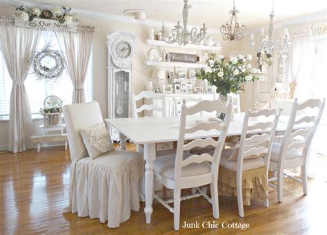 Junk Chic Cottage Dining Room Reveal