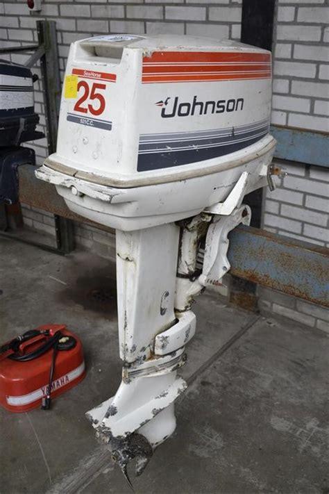 Johnson Buitenboordmotor 35 Pk buitenboordmotor johnson 25 pk werkend nie