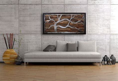 handmade reclaimed wood wall made of barnwood and
