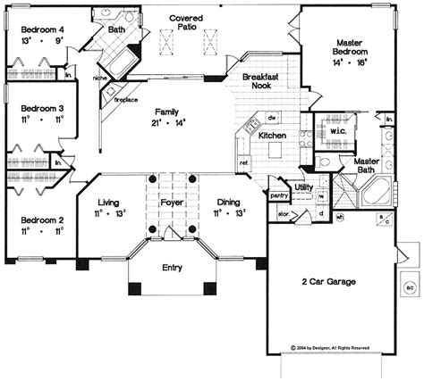 open one story house plans one story house plans with one story open floor plans with 4 bedrooms one