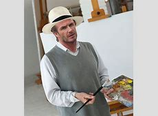 David Beckham reveals he would have been a PAINTER if he