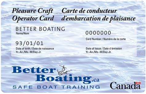 Boat License Quebec by Canadian Boating License Canada Official Course Test