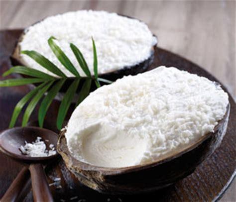 4 noix de coco givr 233 es surgel 233 gamme glaces desserts glac 233 s sur thiriet