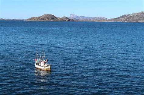 Norwegian Boats by Typical Norwegian Fishing Boat