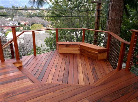 constructing a wood deck costs pros and cons