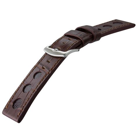 U Boat Watch Replacement Parts by Genuine Leather Rally Watch Strap For U Boat Watches With