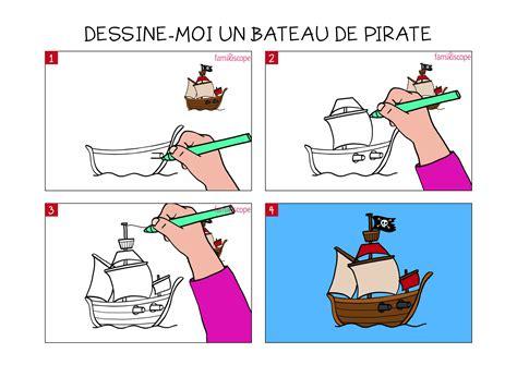 Dessin Animé Bateau Pirate by Apprendre 224 Dessiner Un Bateau De Pirate En 3 233 Tapes