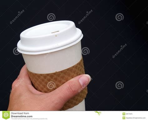Holding Coffee Cup Royalty Free Stock Photo   Image: 2917875