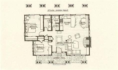 mountain architects hendricks architecture idaho cabin plan
