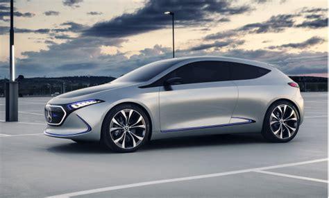 Mercedes Benz Concept Eqa Small Electric Hatchback Debuts