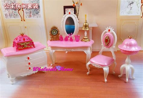 Barbie Boat Bed by Doll Toy Dresser Chair Set Dollhouse Bed Room Furniture