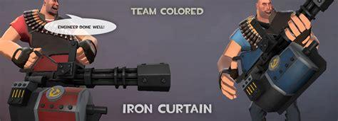 team iron curtain team fortress 2 gt skins gt heavy weapons gt iron curtain gamebanana