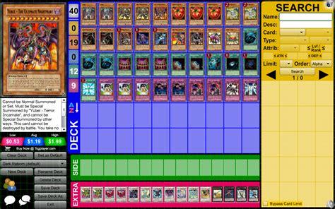 reborn yubel s deck pojo forums